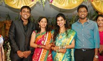 Celebs @ Singer Malavika Marriage Reception