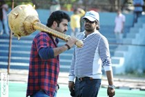 Jr. NTR, Harish Shankar @ Ramayya Vasthavayya Movie Working Location