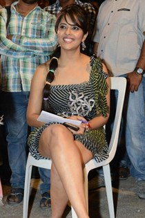 Anchor Anasuya @ Park Movie Audio Launch
