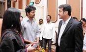 Thala Ajith and Illayathalapathy  Vijay @ Cricketer Krisnamachary Srikanth's son  Anirudha Engagement in Chennai