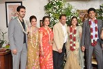 Hema Malini and Dharmendra @ their Daughter Ahana Deol Engagement