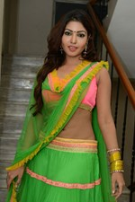 Actress Komal Jha @ Eduruleni Alexander Movie Audio Launch