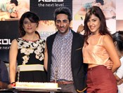Tahira Kashyap and Rhea Chakraborty @ Ayushmann Khurrana's New Single 'O heeriye!' Launch