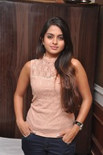 Actress Sheena Shahabadi @ 'Nuvve Na Bangaram' Movie First Look Launch