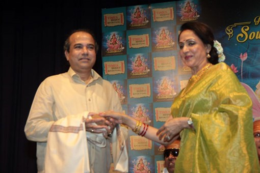 hema-malini-at-shlok-album-soundaryalahari-launch-12