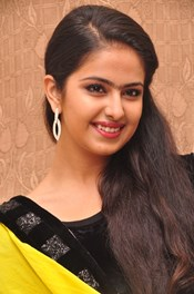 Actress Anandi (Avika Gor) @ 'Uyyala Jampala' Movie Audio Launch