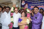 Krishna and Naresh @ Vijaya Nirmala Birthday Celebrations 2014
