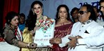 Hema Malini and Rekha @ Launch of Veteran Music Director Ravindra Jain's Book Dil Ki Nazar Se