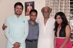 Superstar Rajinikanth @ wishes his friend's daughter and Actor Raja