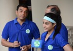 Regina Cassandra and Dil Raju @ 'Glaucoma Awareness Walk' Organised by L.V.Prasad Eye Institute