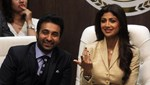 Shilpa Shetty and Raj Kundra @ 'Satyug Gold' Launch