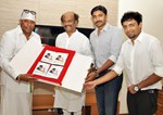 Rajinikanth, AR Rahman, Vijay and Lata Mangeshkar @ Launches 'Arima Nambi' Movie Audio