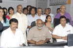 MM Keeravani, Koti and Manisharma @ Moksha Music Studio Launch