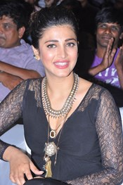 Actress Shruti Hassan @ 'Race Gurram' Movie Success Meet