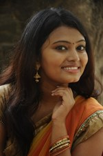 Actress Nekha @ 'Mael' Movie Audio Launch